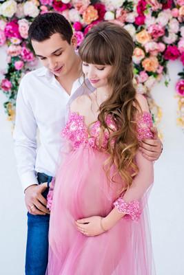 Фотосессия во время беременности 30 недель
