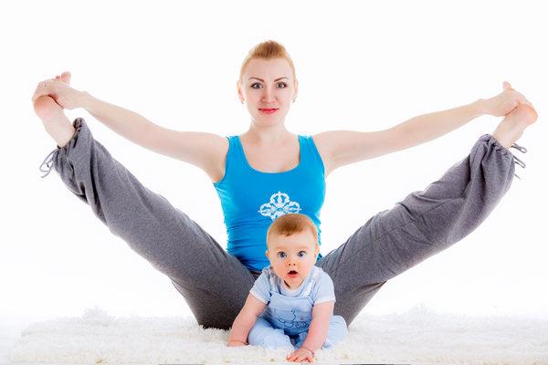 Фитнес с участием малыша