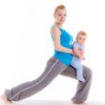 Фитнес с ребенком на руках: 5 эффективных упражнений для мамы с грудничком
