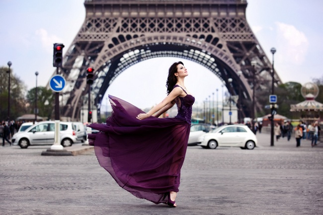 Красивая француженка