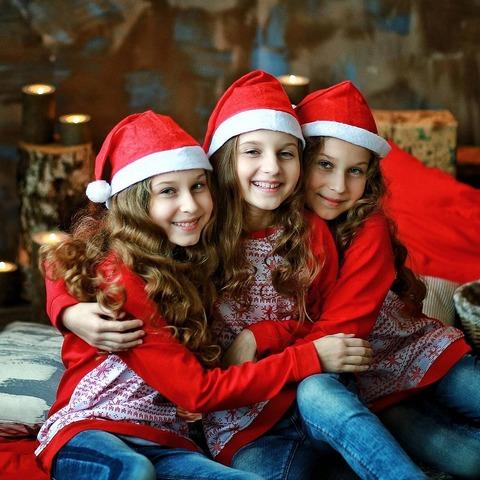 девочки тройняшки Калашниковы