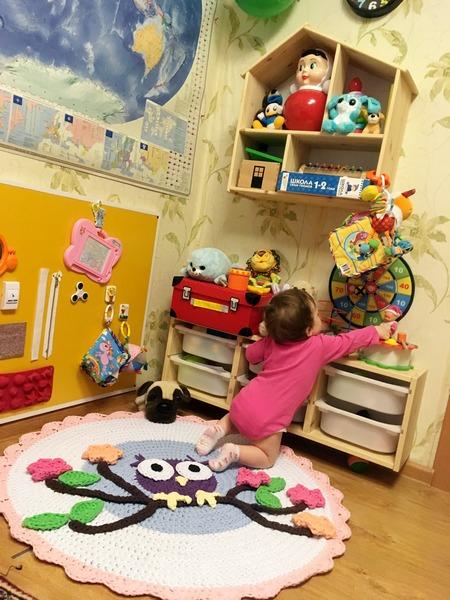 Игровое пространство в маленькой квартире