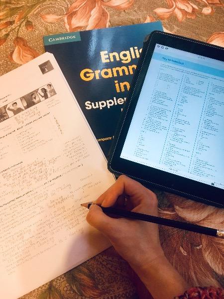 Грамматика английский